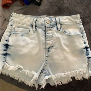 Women's High Wasted Jeaned Shorts